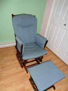 Rocking chair with ottoman Gatineau Ottawa / Gatineau Area image 1