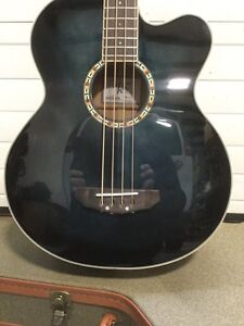 Michael Kelly Firefly Premium Acoustic Electric Bass like New London Ontario image 3
