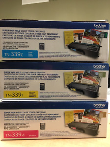 TN 339 Toner Cartridges Super High Yield