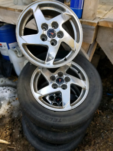 16inch Pontiac grand am rims
