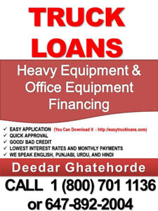 Truck financing -  Apply Now, Drive Tomorrow CALL @ 1(800)70111