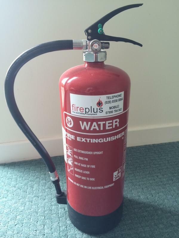 6 Litre Water Fire Extinguisher In Lisbellaw County