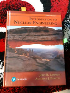 Introduction to Nuclear Engineering 4th Edition