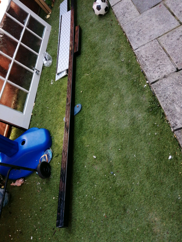Down pipe and fascia