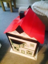 1940's dolls house project.