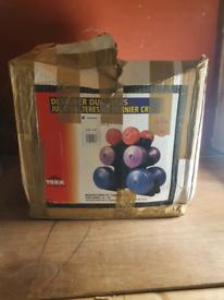 York fitness dumbells with stand 2× 1.5kg,2×3kg,2×5kg