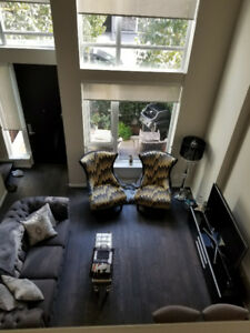1 BR & Den Yaletown Townhouse/Loft (825ft)-$3,200