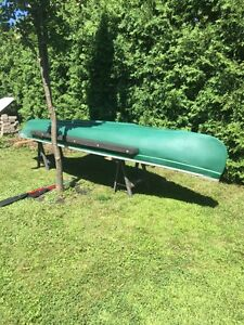 Canoe 15' (flat tail) with electric motor!