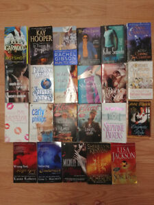 Various Romance Books  $1 each, 5 for $3; or all for $12.