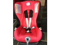 Britax 1st class car seat in red
