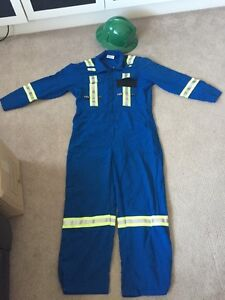 Coveralls and hardhat package. Nomex sz 40