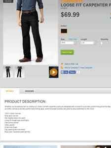 2 pairs Men's Carhartt work pants London Ontario image 3