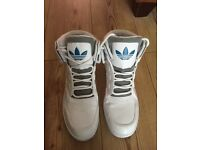 Mens Adidas high tops size 11 (2 pairs available)