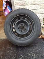 FIRESTONE WINTERFORCE TIRE AND RIMS FOR SALE