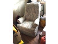 Lovely armchair Lounge Living room soft comfy chair seat