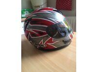Motorcycle helmet large
