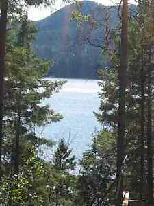 Sunshine Coast ,Sechelt, waterfront buiding lot