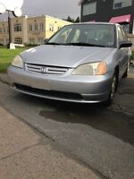 2002 Honda Civic NEW MVI!