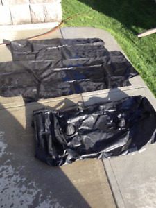 Avalanche Bed Cover Bags for truck box. New. Never used.Offers.