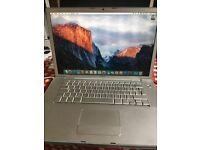 MacBook Pro 2008 - works but please read