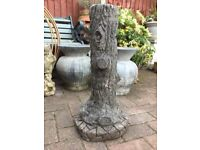 Vintage tall garden plinth, sundial or candle base etc