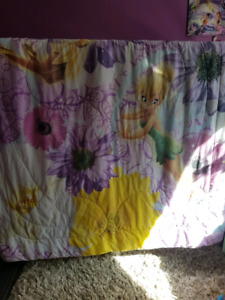 Tinkerbell comforter and matching curtains