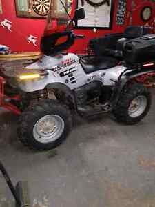 Quad for sale ortrade for sled or jeep