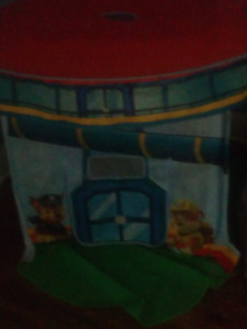 Paw patrol pop up fort