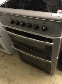 Beko Silver fan assistant electric cooker