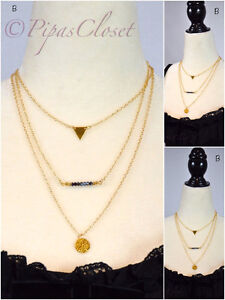 Costume Gold necklace fashion jewelry