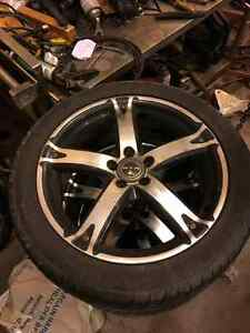 Sellin 17inch rtx tires with good michelin raptors on good pric