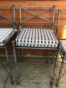 chairs for sale - 3 Bar Height Chairs & 1 Table Height Chair