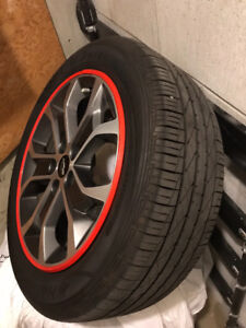 Chevy Sonic Sport Rims and Tires