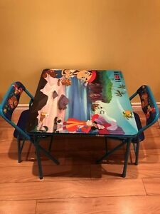 Table & Chair Set for 2-6 years old