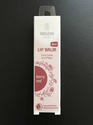 Weleda Lip Balm Berry Red Lippen Stift Pflege Balsam Natur Kosmetik Style Skin