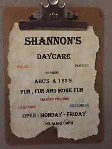 Shannon's home daycare- east end Belleville Belleville Area image 1