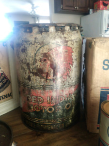 5 Gallon Red Indian Can