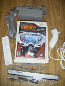 Wii System With Game for sale