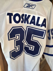 Signed Toronto Maple Leafs Jersey