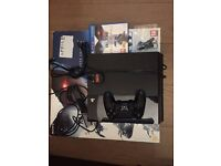 PS4 500GB with controller, camera, earpiece, HDMI and Killzone Shadow Fall