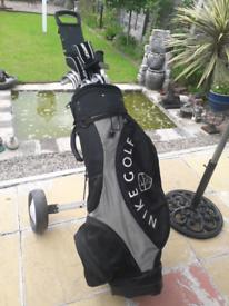 Full set golf clubs cobra