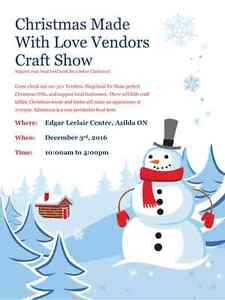 Shopping Made with Love Vendor/Craft Show