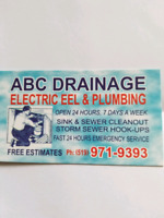 ABC DRAINAGE ELECTRIC EEL AND PLUMBING