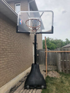 Basketball Net System with extra new hoop