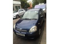Toyota Yaris T3 2003 1 litre petrol 5 Doors 1 year Mot low milage 76000 cheap road tax and insurance