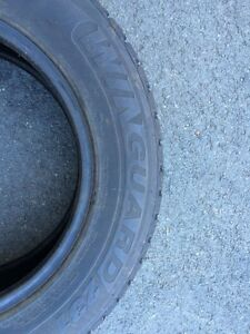 4 Winter tires for sale barely used, excellent condition