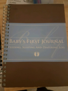 Baby's first journal