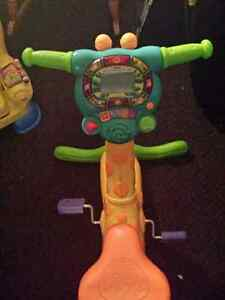 Rocking horse and vtech learn and play bike Cambridge Kitchener Area image 4