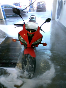 2008 HONDA RED CBR125R BEGINNER SPORT