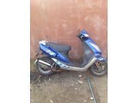 Jet 50cc moped